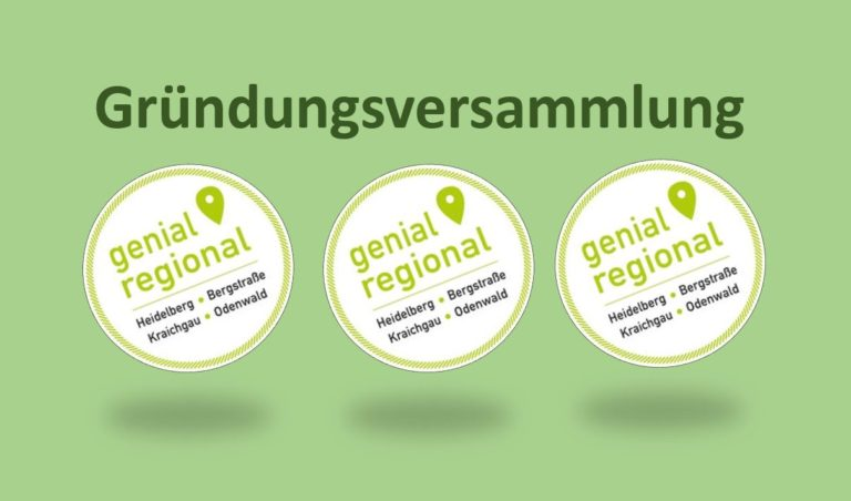 Gründung des Genial Regional Verein (GeReg e.V.)