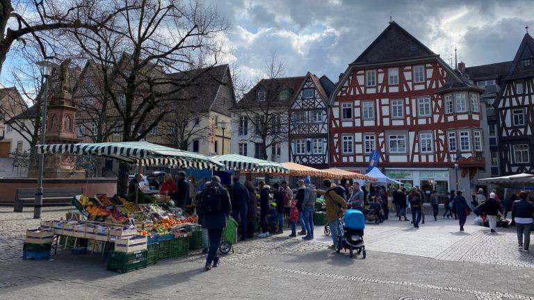 Bensheimer Wochenmarkt – Kundenumfrage