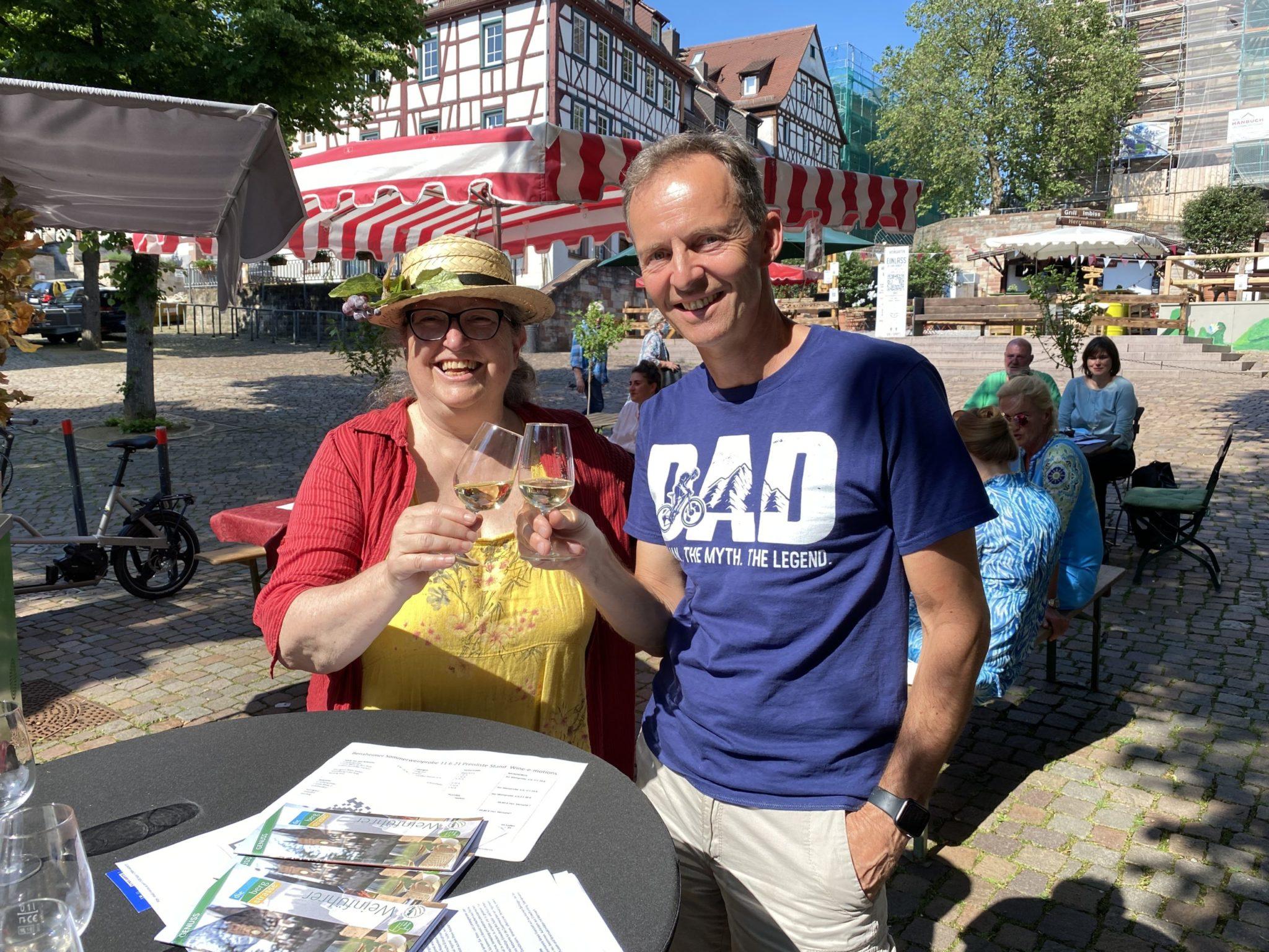 Genial Regional Verein - Weinfrühling Brigitte Zimmerman und Ottmar Meissner