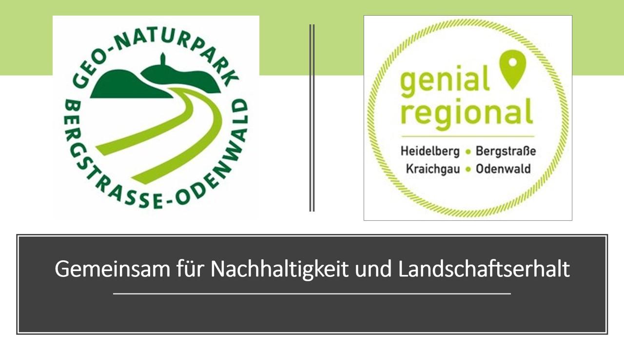 Geo Naturpark Bergstraße-Odenwald Kooperation mit Genial Regional Verein