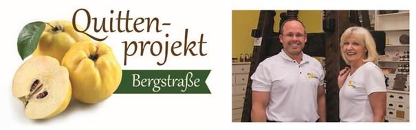 Quittenprojekt Bergstraße Rainer Stadler und Ellen Müller