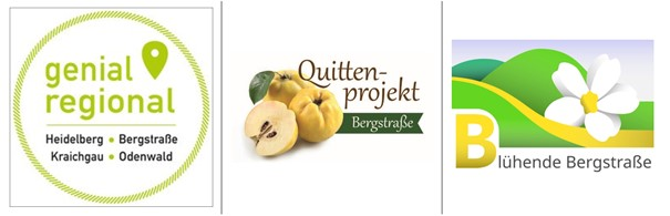 Quittenprojekt Bergstraße - Verein Blühende Bergstraße - Geinal Regional Verein
